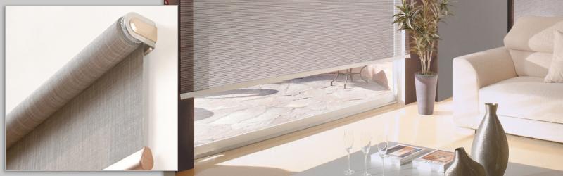 Tende a rullo per interni qualit praticit design for Tende per dividere ambienti