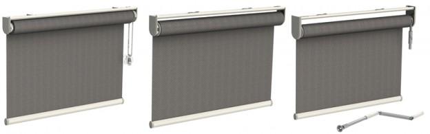 Tende a rullo su misura arreda la tua casa fai da te - Tende per finestre interne ...
