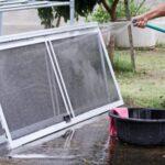 Come pulire le zanzariere per porta finestra