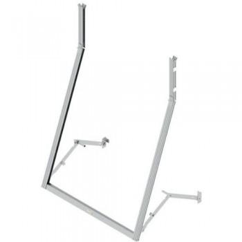 Telaio a sporgere in alluminio leva laterale