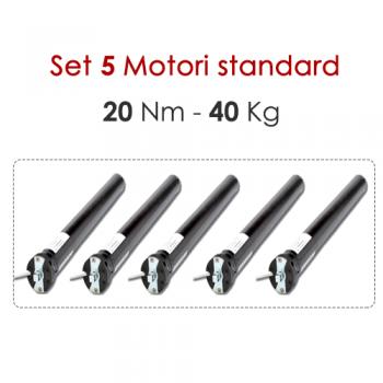 Set 5 Motori - 20 Nm | 40 Kg