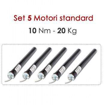 Set 5 Motori - 10 Nm | 20 Kg