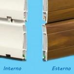 Tapparella Bicolore PVC - Fibra di Vetro
