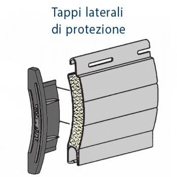 Tapparella in Alluminio coibentato - Standard