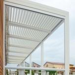 Tenda veranda trasparente antivento