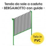 Tenda da sole a caduta in PVC - Bergamotto Guide