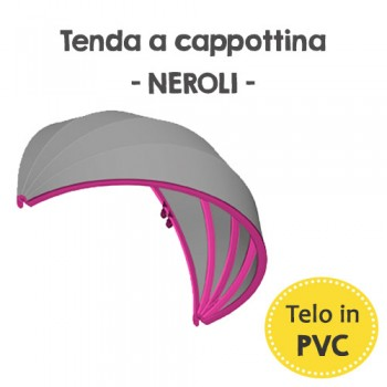 Tenda a cappottina in PVC - Neroli