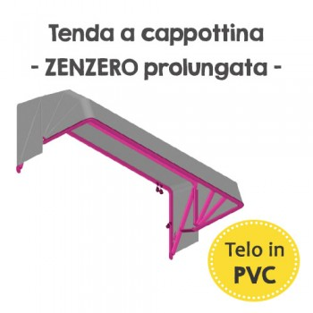 Tenda in PVC - Zenzero prolungata