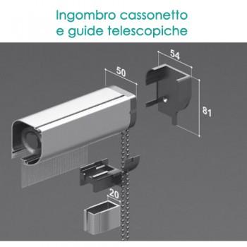 Zanzariera a Catenella con Guide Telescopiche