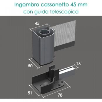Zanzariera portafinestra - Guide Telescopiche