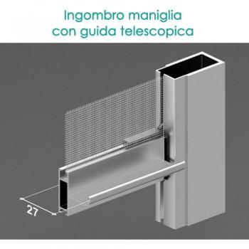 Zanzariera verticale - Guide Telescopiche