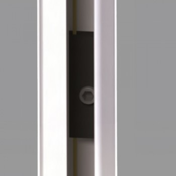 Zanzariera Plissè 1 Anta - ingombro 25 mm