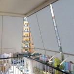 Tenda da sole per balcone a caduta