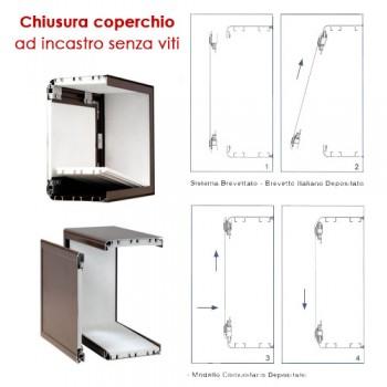 Cassonetto in alluminio per tapparelle