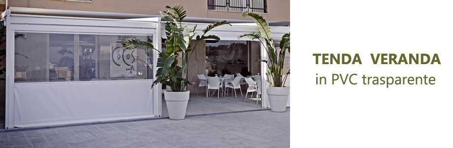 tenda veranda cristal