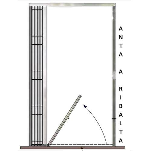 Grata inferriata scorrevole impacchettabile di sicurezza per porte finestre ebay - Serrande elettriche per finestre ...