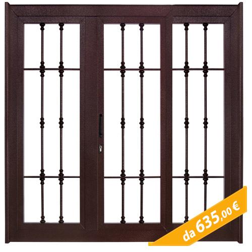 Vendita online inferriate per finestra in vari modelli e - Grate in ferro per finestre prezzi ...