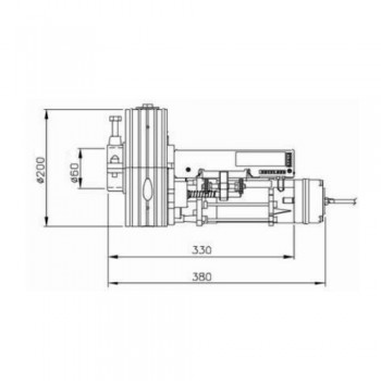 Motore per serrande avvolgibili