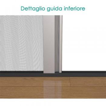 Zanzariera per finestra 1 ANTA – chiusure laterali