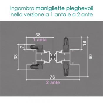 Zanzariera 2 ANTE - ingombro 28 mm