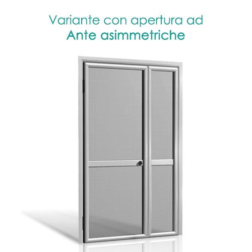 Zanzariere su misura a doppia anta a prezzi di costo online - Tipi di zanzariere per porte finestre ...