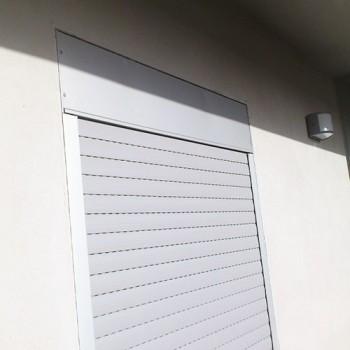 Cassonetto esterno per tapparelle